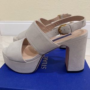 Stuart Weitzman Vero Cuoto Dolce Taupe Suede 6.5
